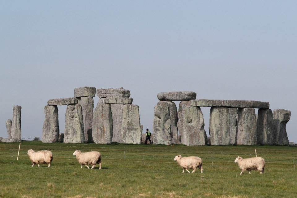 The ring of stones is one of Britain's most popular tourist attractions, with 1.6 million visitors last year. - Adrian DENNIS / ©AFP