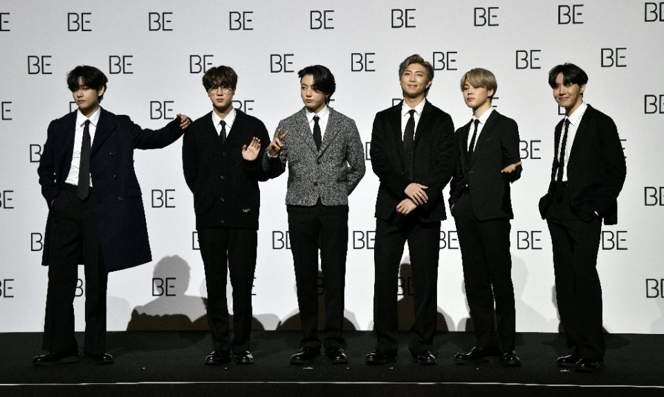 K-pop band BTS became the first South Korean act to top the US singles chart - Jung Yeon-je / ©AFP