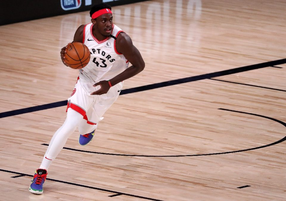 Florida-bound: Pascal Siakam and the Toronto Raptors will be based in Tampa for the start of the new NBA season - Michael Reaves / ©AFP