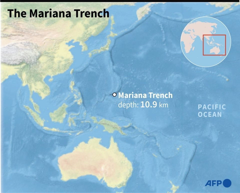 The Mariana Trench - / ©AFP