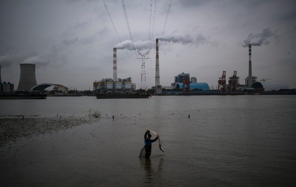 Despite ambitious renewable energy targets, 60 percent of China's power is still provided by coal - JOHANNES EISELE / ©AFP