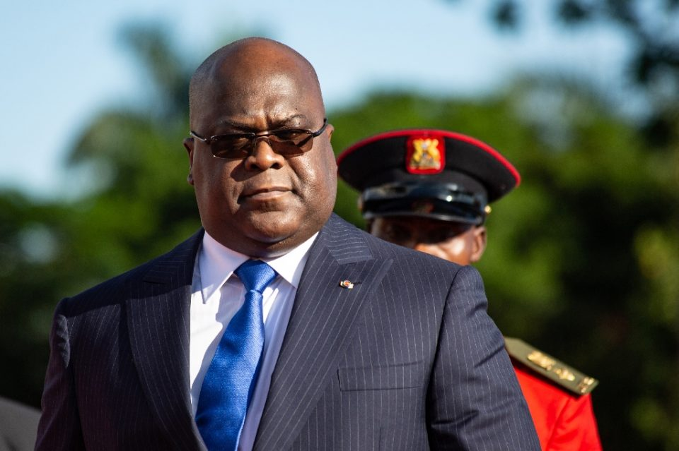 Democratic Republic of Congo President Felix Tshisekedi, seen here in November 2019, has encouraged the United States with his efforts against corruption - Sumy Sadurni / ©AFP