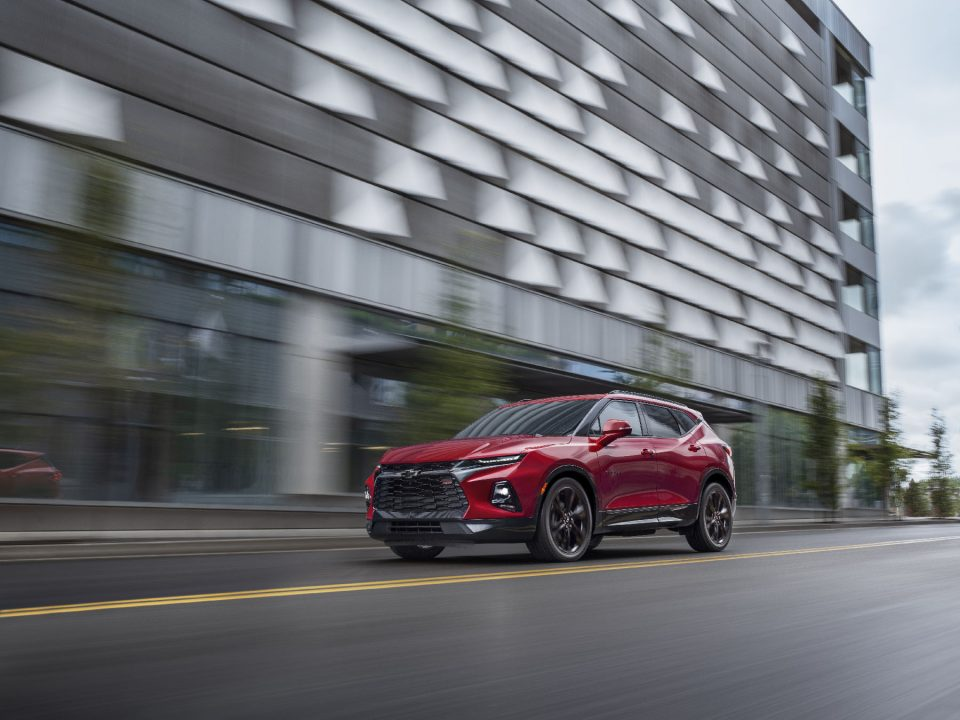View the Chevrolet Blazer this week.