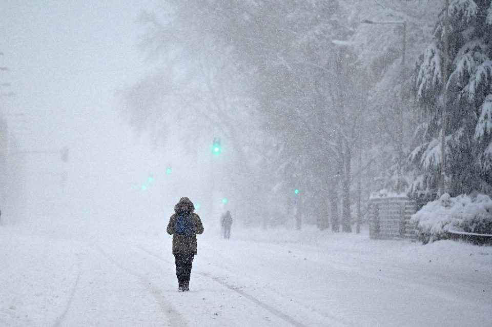 The Madrid region was among the worst hit areas with levels of snowfall not seen since 1971 - GABRIEL BOUYS / ©AFP