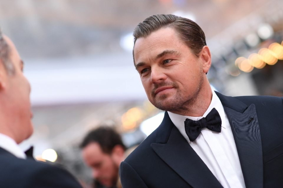 """Leonardo DiCaprio, seen at the Oscars in 2020, will star in Netflix's 2021 movie """"Don't Look Up"""" - VALERIE MACON / ©AFP"""