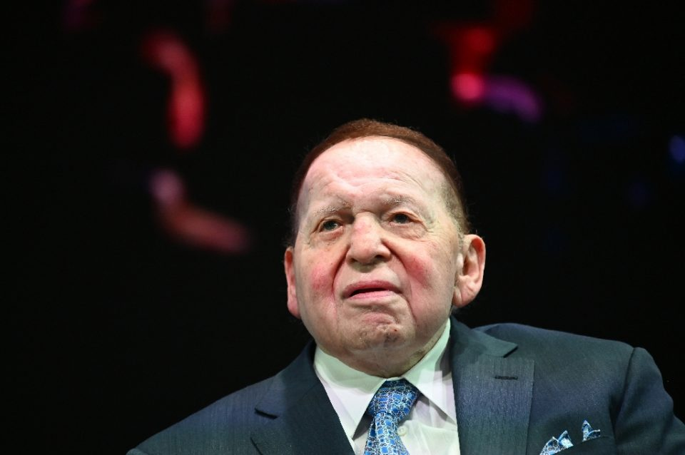 Sheldon Adelson, who died at 87, was a supporter of Republican causes, including outgoing US President Donald Trump - MANDEL NGAN / ©AFP