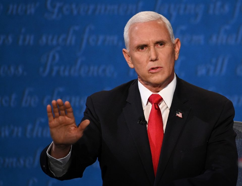 Democrats are pressing Vice President Mike Pence to have President Donald Trump removed from office as unfit - Eric BARADAT / ©AFP