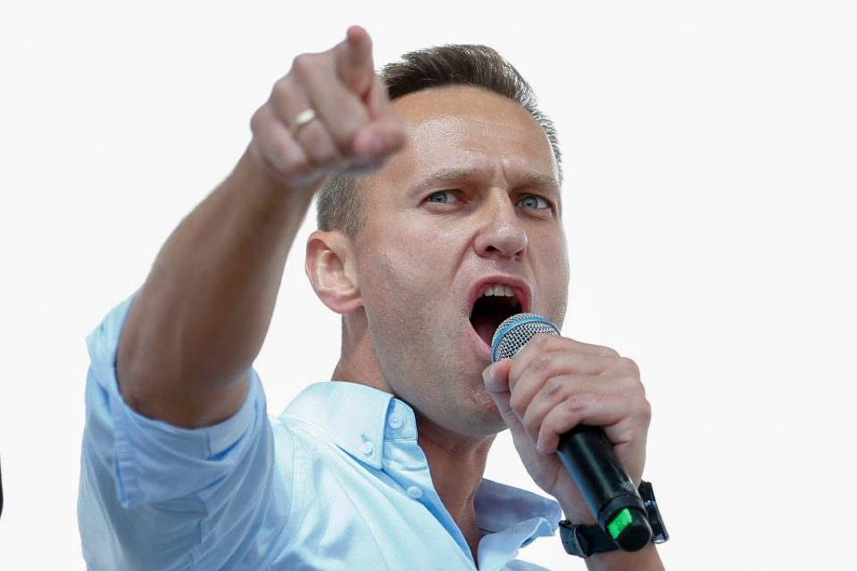 Russian opposition leader Alexei Navalny has vowed to continue in politics after being poisoned with the Novichok nerve agent in August - Maxim ZMEYEV / ©AFP