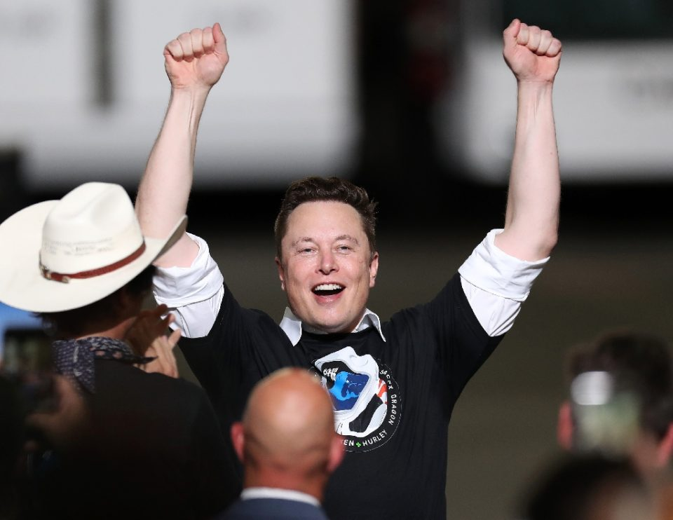 Tesla CEO Elon Musk is now the world's wealthiest person thanks to a surge in the electric car company's share price - JOE RAEDLE / ©AFP