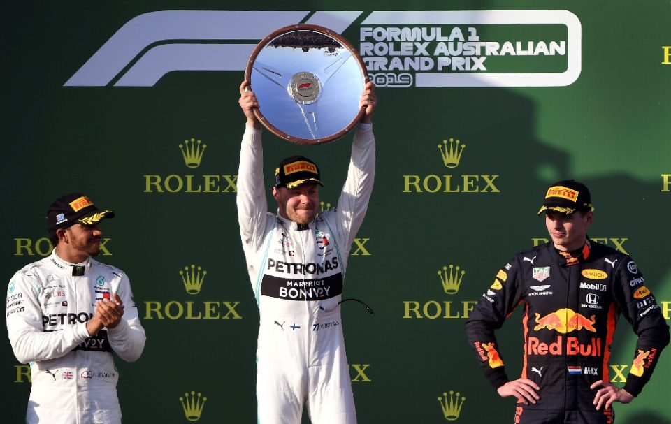 Valtteri Bottas won the last Australian Grand Prix, in 2019. The races in 2020 and 2021 were cancelled - WILLIAM WEST / ©AFP
