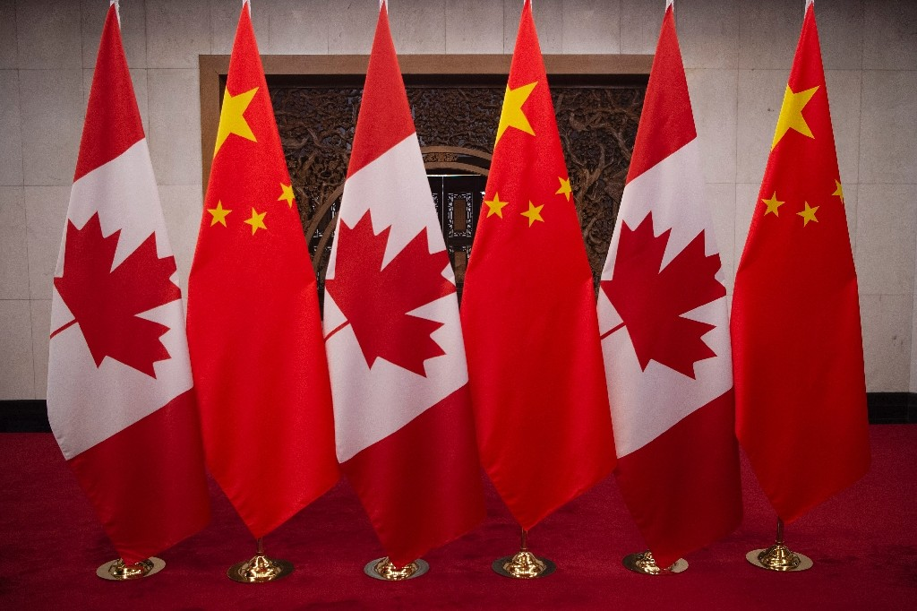 Relations between Beijing and Ottawa have spiralled since China detained former diplomat Michael Kovrig and businessman Michael Spavor in 2018 - Fred DUFOUR / ©AFP