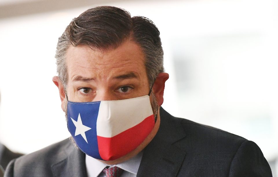 Texas Senator Ted Cruz flew to Mexico as his state struggles with power and water supplies due to a severe winter storm - MANDEL NGAN / ©AFP