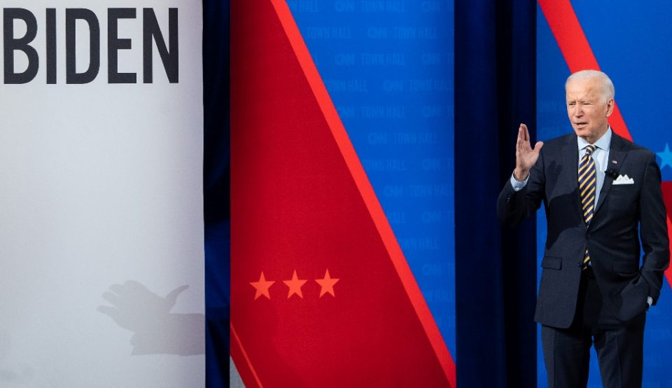 US President Joe Biden says it's time to spend big and fast to get the economy out of the Covid-19 hole - SAUL LOEB / ©AFP